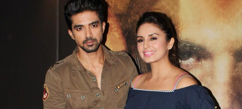 Huma Qureshi and Saqib Saleem