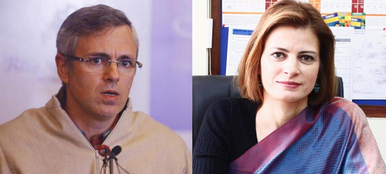 Omar Abdullah and Sara Pilot