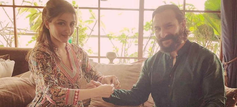 Saif Ali Khan and Soha Ali Khan