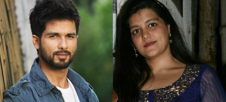 Shahid Kapoor and Sanah Kapoor