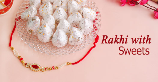 Rakhi with Sweets