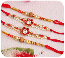 Set of 4 Rakhis